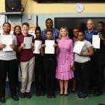Lighthouse School students pass C&G exams
