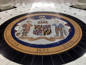 Simonaire's bill to reinterpret a Tuscan translation, written in the center of the state seal, passed second read with amendments on Senate floor Tuesday.