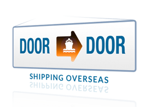 door to door sea shipment from china to us illustration