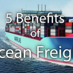sea freight advantages