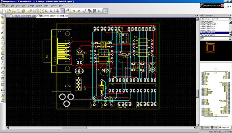 PCB layout and design