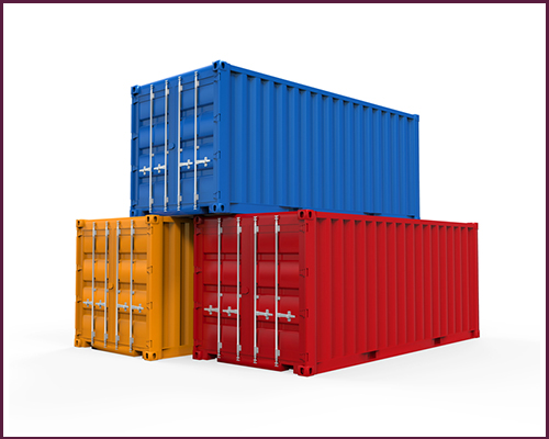 full container load from China