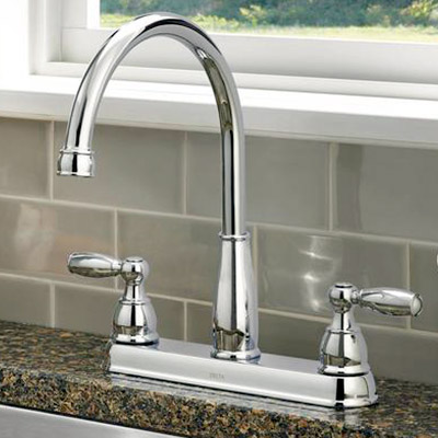 pull out kitchen faucet pull down