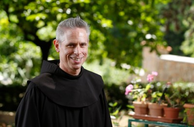 U.S. Franciscan Father Michael Perry is minister general of the Order of Friars Minor. (CNS/Paul Haring)