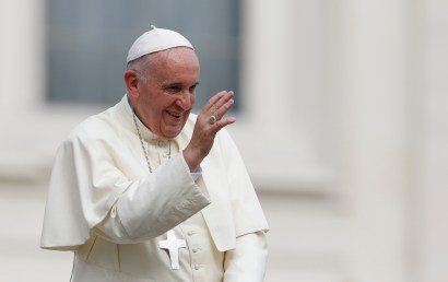 Pope Francis (CNS/Paul Haring)