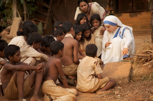 "Juliet Stevenson as Mother Teresa in ""The Letters."" (CNS/MPRM Communications)"