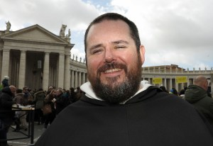 Father Devaney (CNS/Carol Glatz)