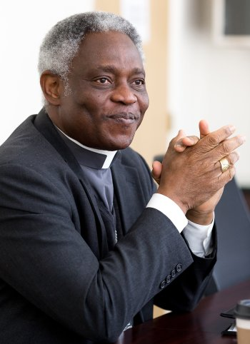 Ghanaian Cardinal Peter Turkson will head the new Vatican office to promote integral human development. (CNS/Tom Tracy)