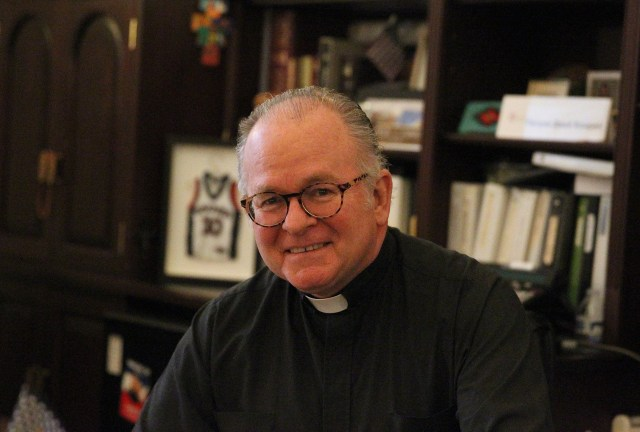 Jesuit Father Patrick J. Conroy has been the chaplain of the U.S. House of Representatives since 2011. (CNS/Rhina Guidos)