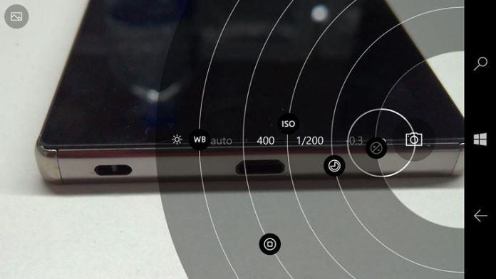 smartphone camera manual mode