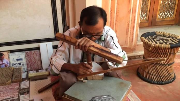 Jaipur Anokhi Museum and Store Handwritting