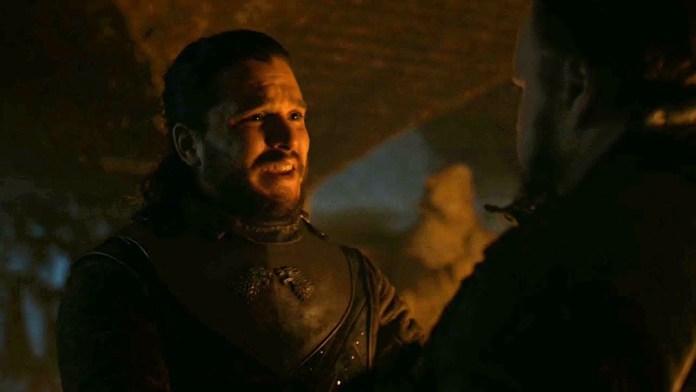 Samwell Tarly meeting Jon Snow and telling the truth