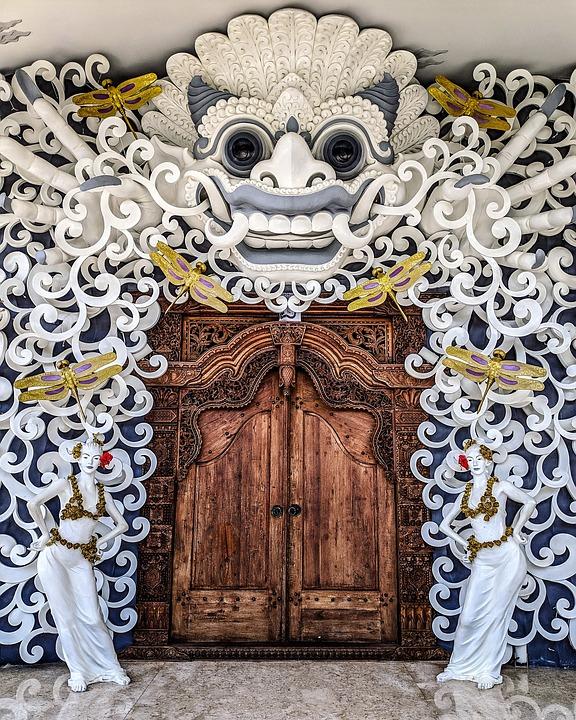 door art Bali