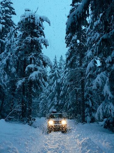 Enjoy Heavy Snowfalls