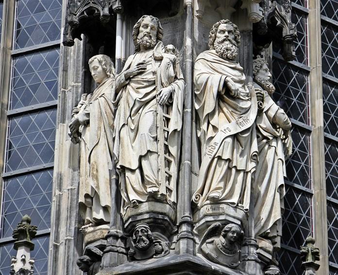 Aachen Cathedral Dom Church Aachen, Architecture, Art, Sculptures