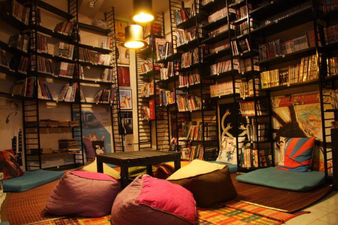 book cafe delhi