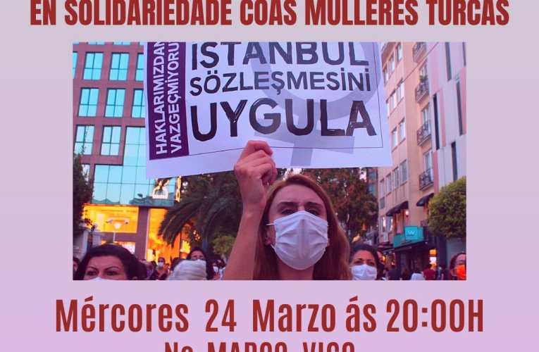 [24/03] Concentración en Solidaridad coas Mulleres Turcas