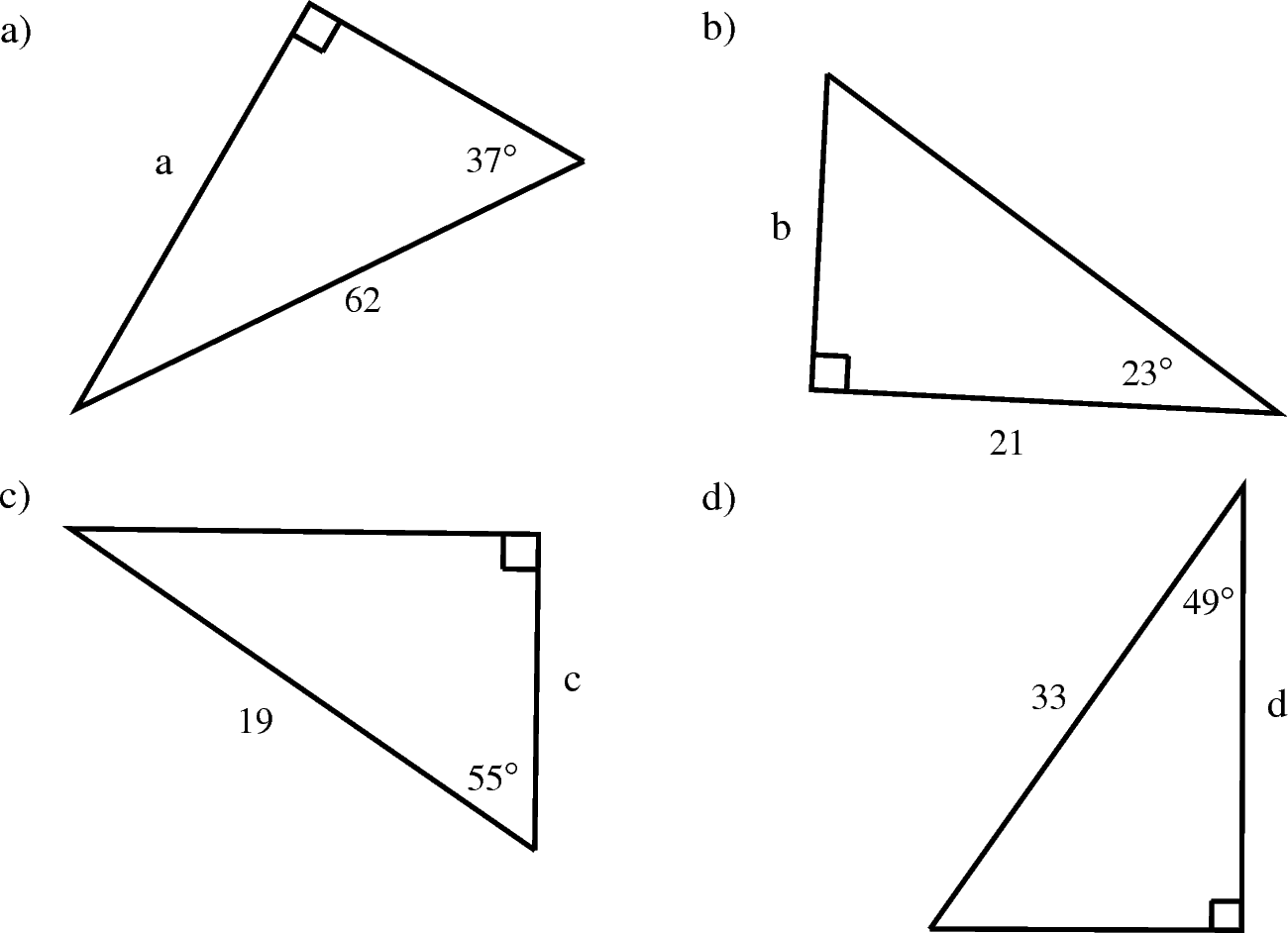 Made By Teachers Grade 10 Math Trigonometry Worksheets