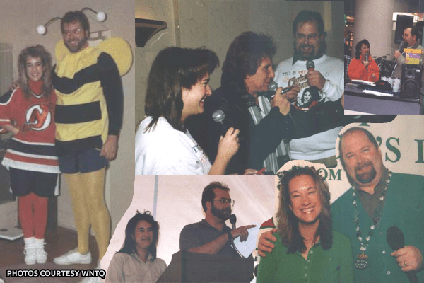 A sampling of classic photos of Ted and Amy from the 93Q website (click to see more).