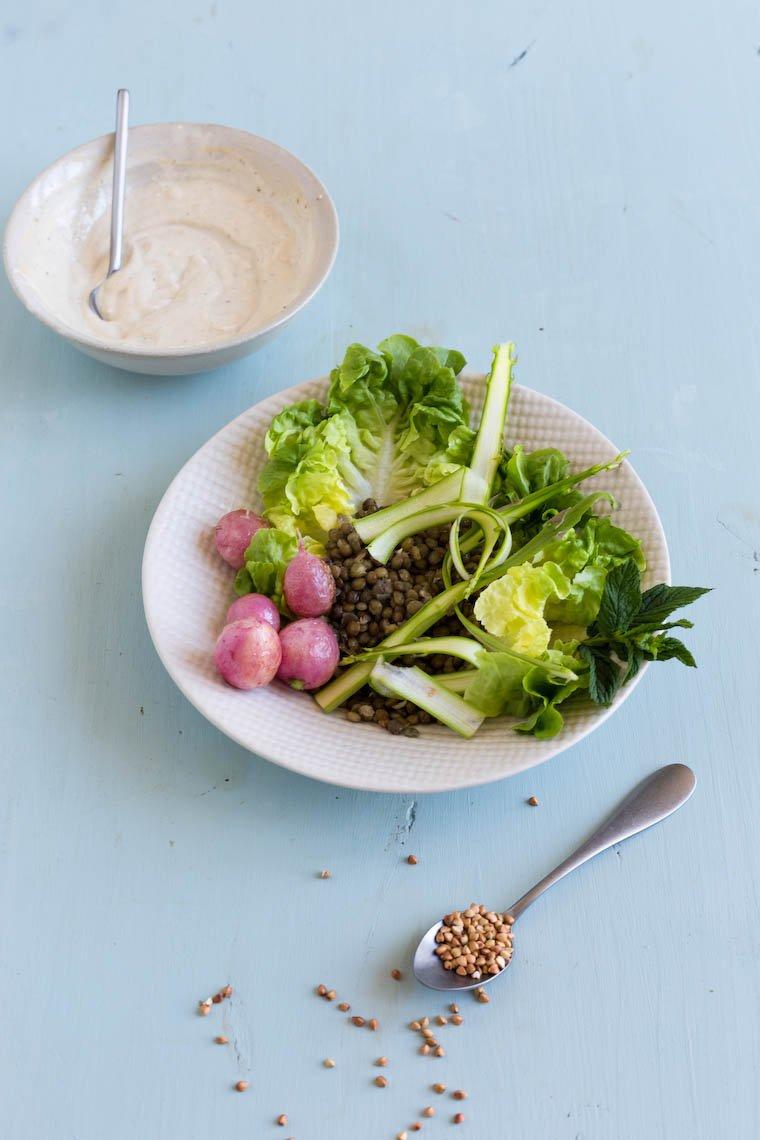 Otium Salad in progress