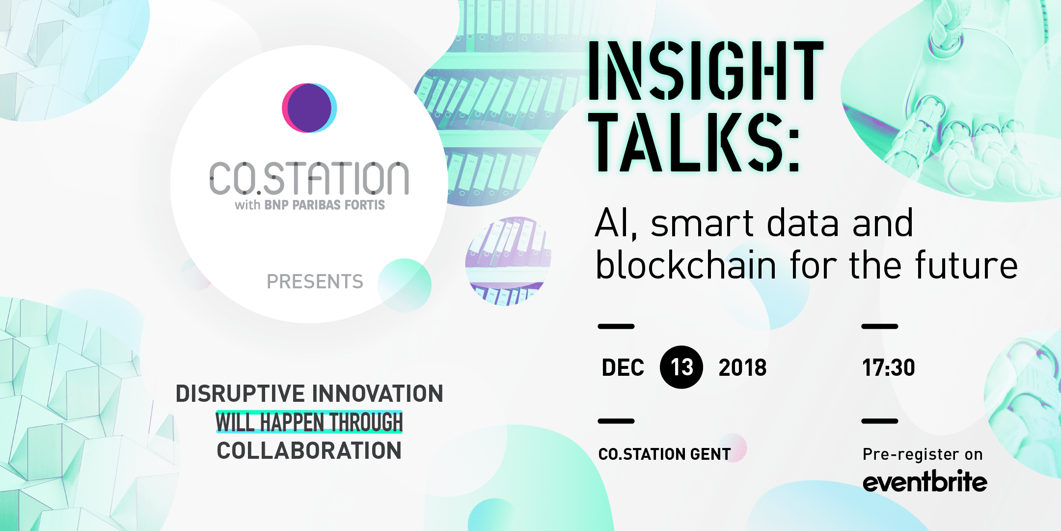 Co.Station | Insight Talk: AI, Smart Data and Blockchain on Dec 13