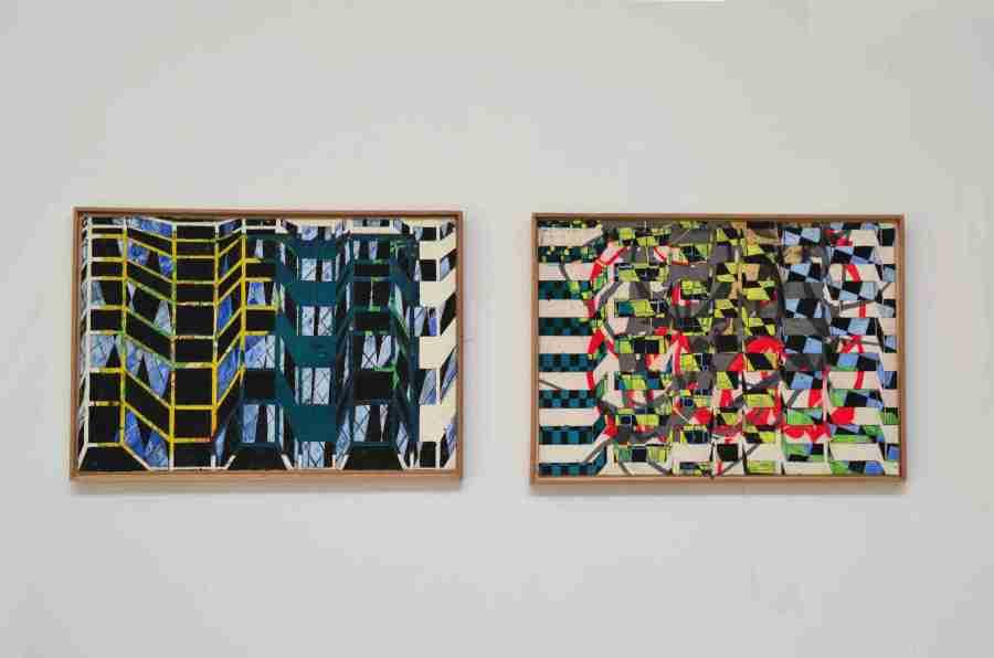 """Bild 3 und 4, aus der Serie""""Fassaden"""""""
