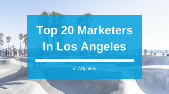 20 Marketers