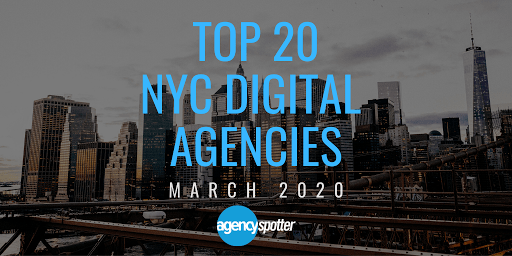 top 20 NYC digital agencies
