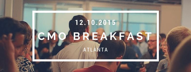 Atlanta CMO Breakfast Tickets