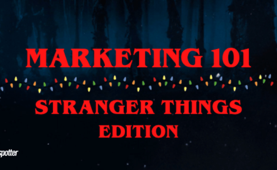 Stranger Things Marketing