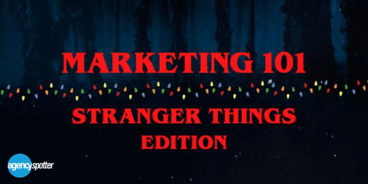 Stranger Things Marketing