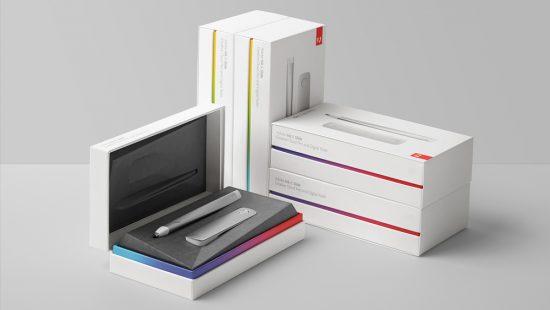 character sf packaging design for adobe ink & slide pen