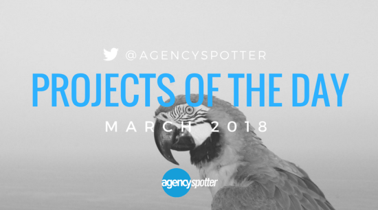 Agency spotter top projects march 2018