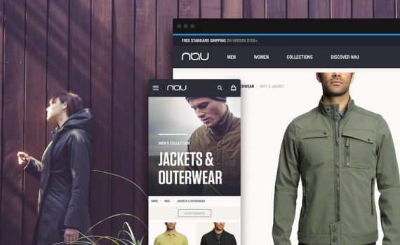 E-commerce agency Copious and Nau Clothing