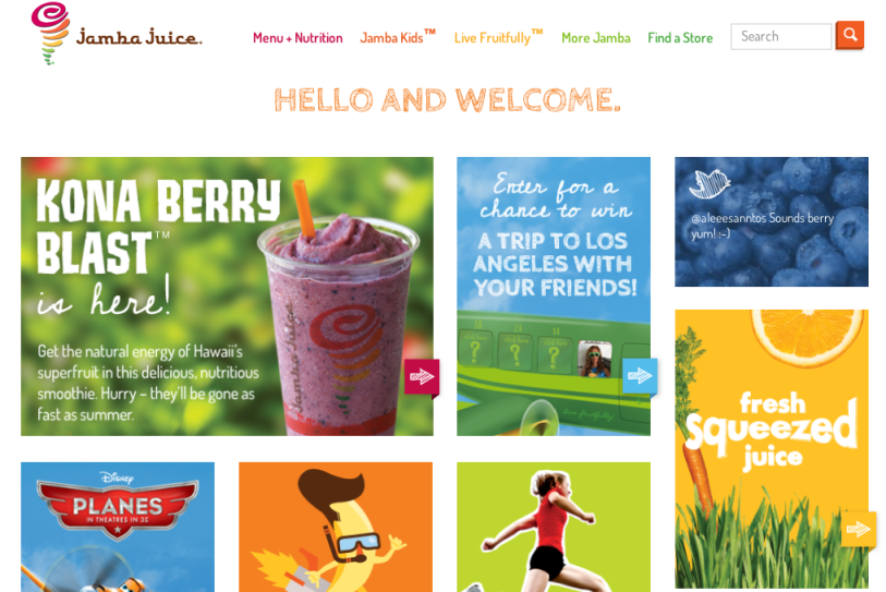 Advertising Agency Modern Climate Jamba Juice