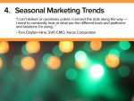 Seasonal Marketing Trends 2018