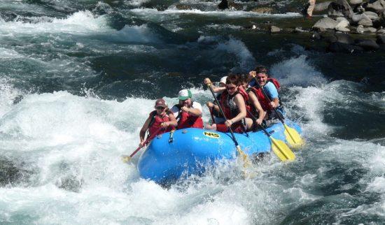 Portland advertising agency Mutt goes rafting.