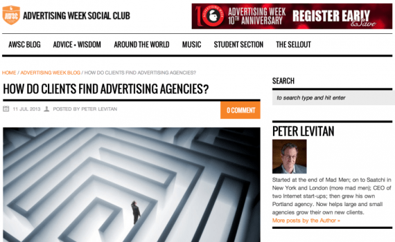 How Do Clients Find Advertising Agencies? - Advertising Week
