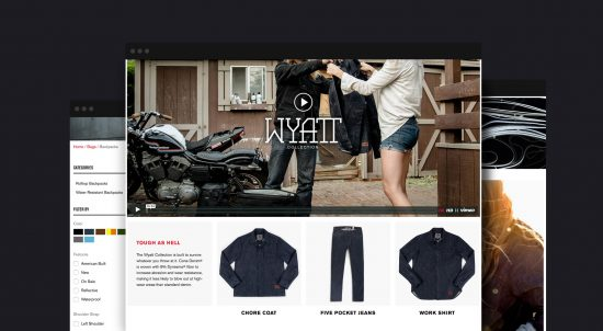 copious web design project with chrome industries