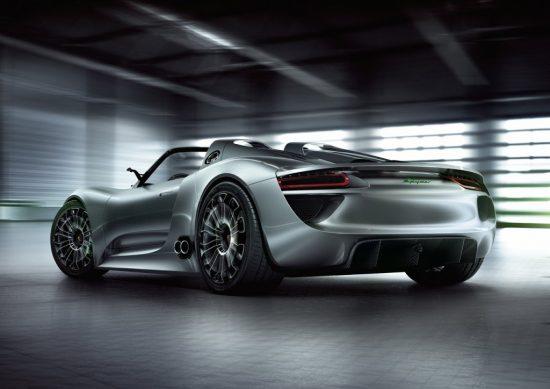 porsche racing convertible concept