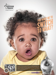 Boston award-winning agency Full Contact's work for Tommee Tippee