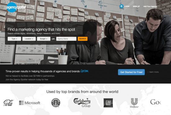 Agency Spotter's new look