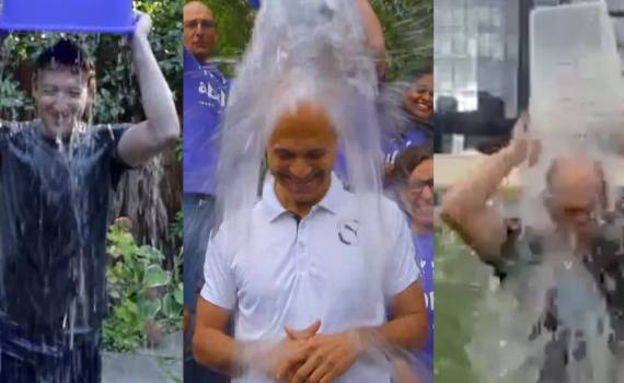 Tech CEOs take part in the Ice Bucket Challenge