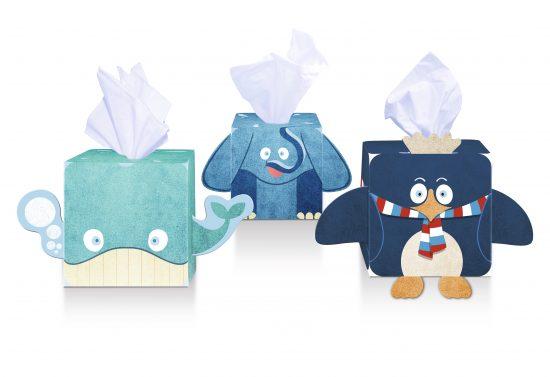 pemberton & whitefoord llp packaging design for tesco kid's tissues