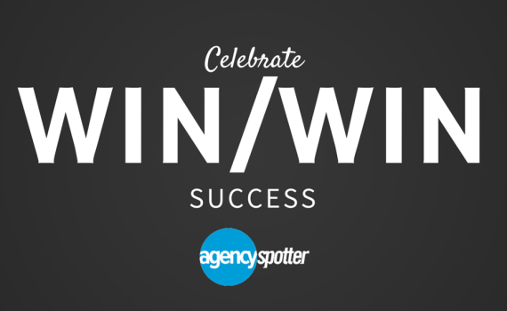 celebrate win win success with agencies and marketers on Agency Spotter