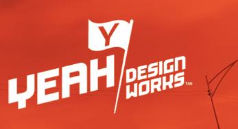 yeah design works logo