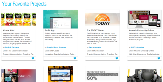 Discover top agency projects today