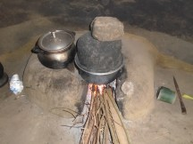 A cook stove in one of the communities in Abari