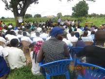 A cross section of the community attending the stakeholder consultation meeting in Lira