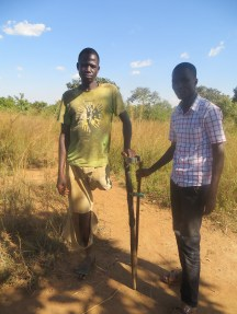 Alex and Isaac (Project officer)